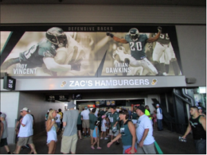 Zac's Lincoln Financial Field Eagles
