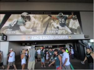 Zac's Lincoln Financial Field Eagles