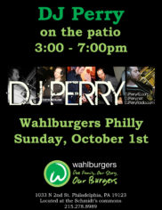DJ PERRY EVENT FLYER 101