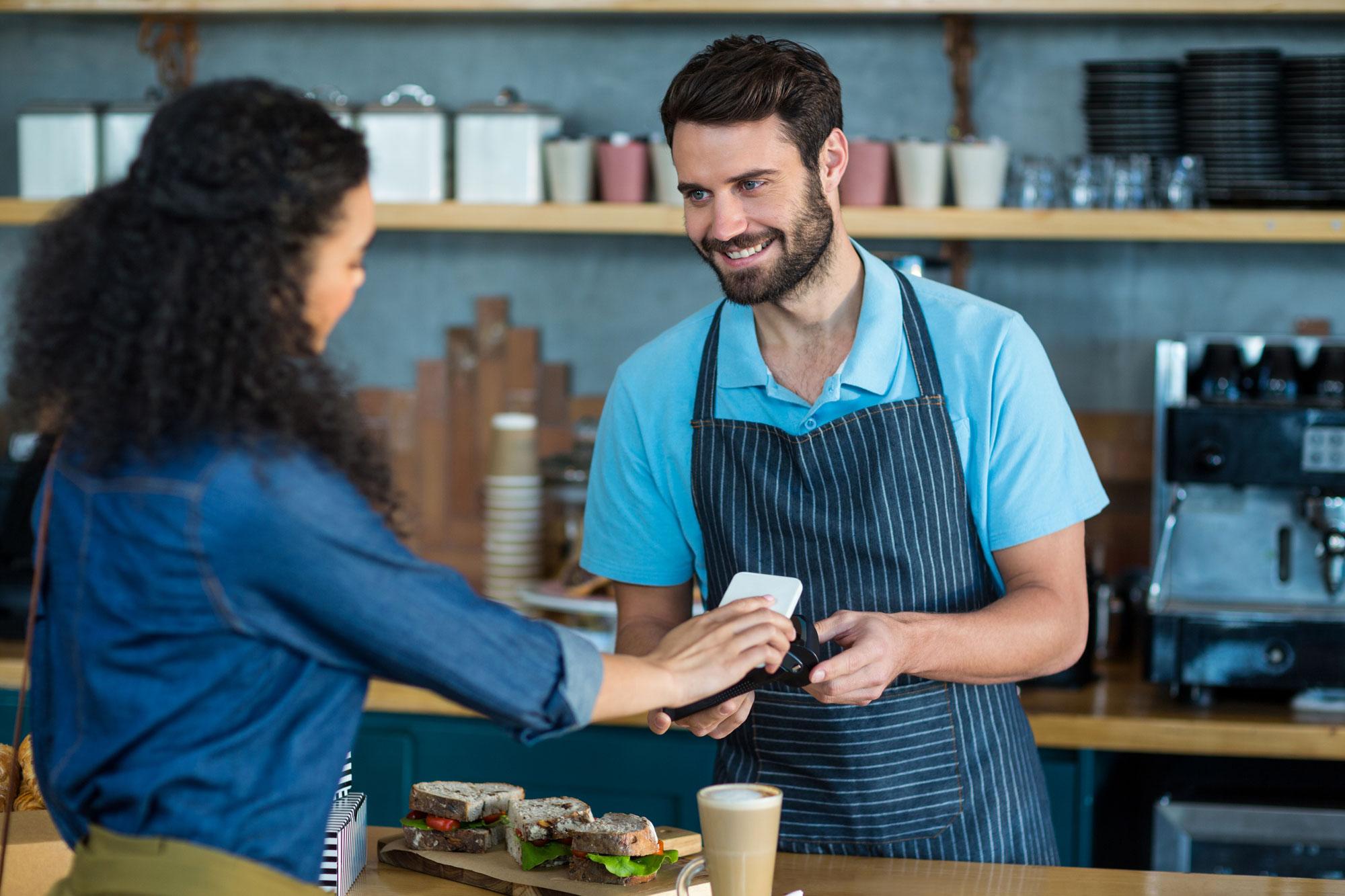 NFC technology for restaurants